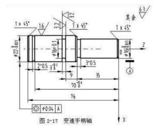 数控车床编程实例(二)