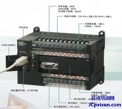 图1-3 欧姆龙 cp1e na系列plc