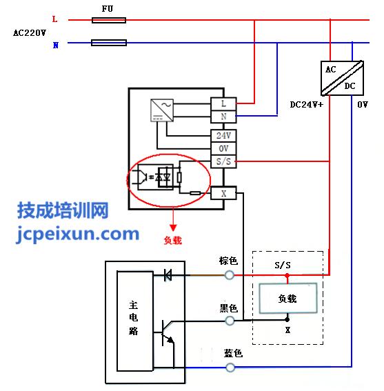 npn型的接近开关的特性为低电平导通