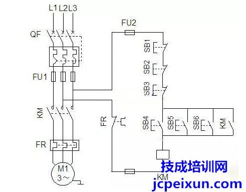 电力拖动控制线路图大全